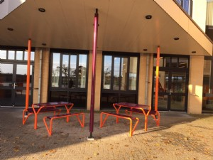 Pleininrichting middelbare school in Staphorst
